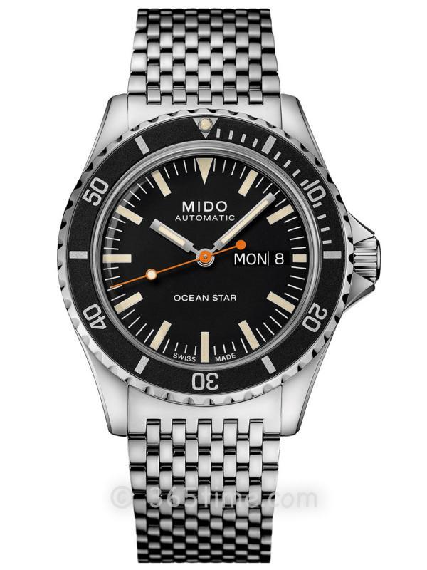 美度领航者OCEAN STAR TRIBUTE星期日历自动潜水表M026.830.11.051.00