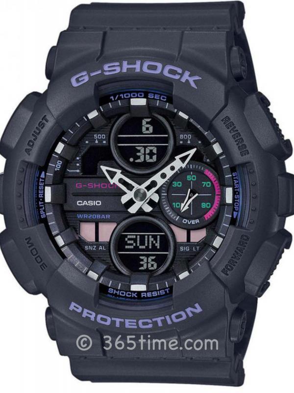 卡西欧(Casio)G-SHOCK G-SERIES GMAS140-8A女士数字指针