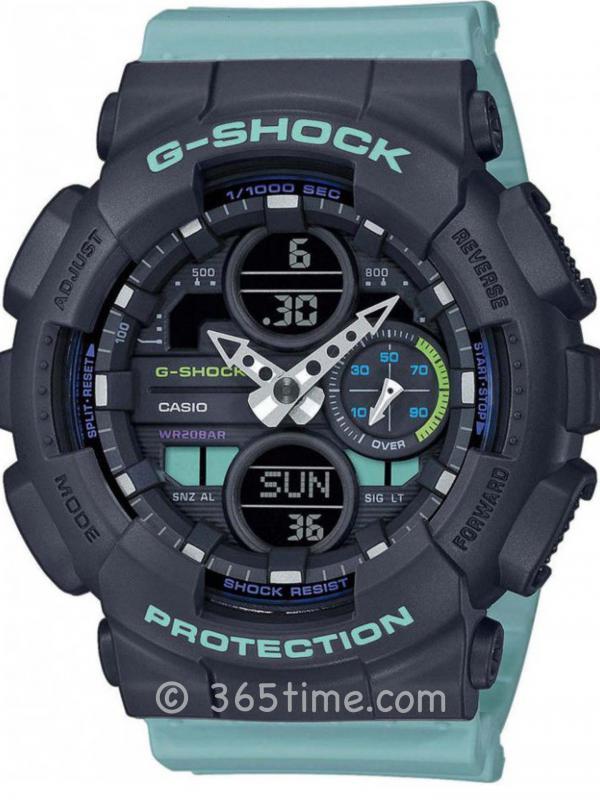 卡西欧(Casio)G-SHOCK G-SERIES GMAS140-2A女士数字指针