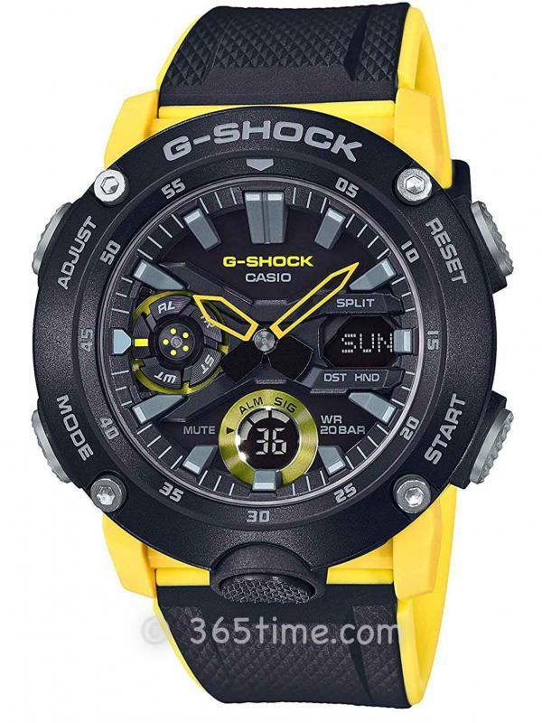 卡西欧(Casio)G-SHOCK碳纤维GA2000-1A9