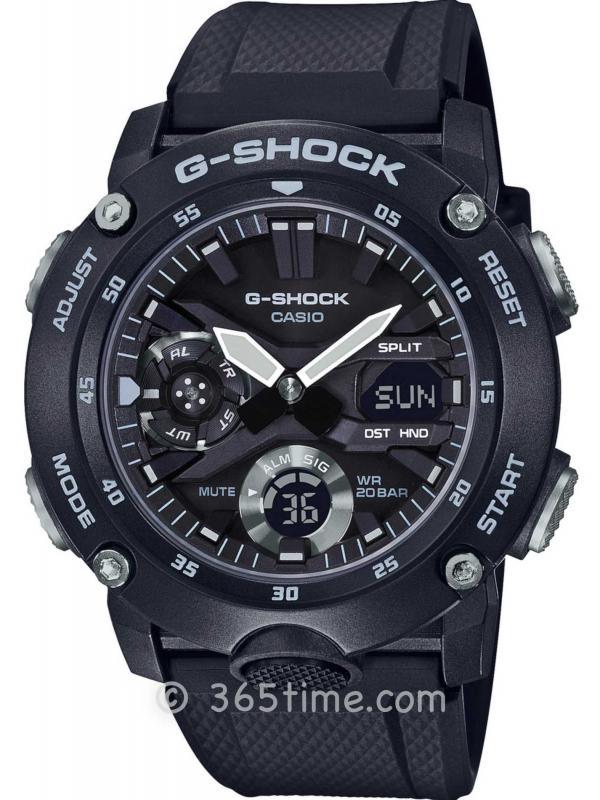 卡西欧(Casio)G-SHOCK碳纤维GA2000S-1A