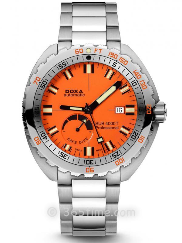 DOXA时度SUB 4000T限量版潜水表875.10.351.10