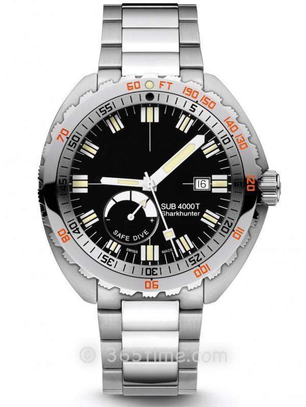 DOXA时度SUB 4000T限量版潜水表875.10.101.10