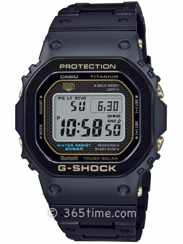 卡西欧(Casio)G-Shock 5000之钛合金版本GMW-B5000TB
