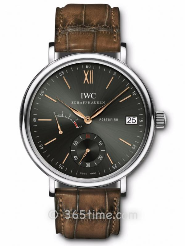 IWC万国柏涛菲诺限量版手动上链8天动力储备IW510117