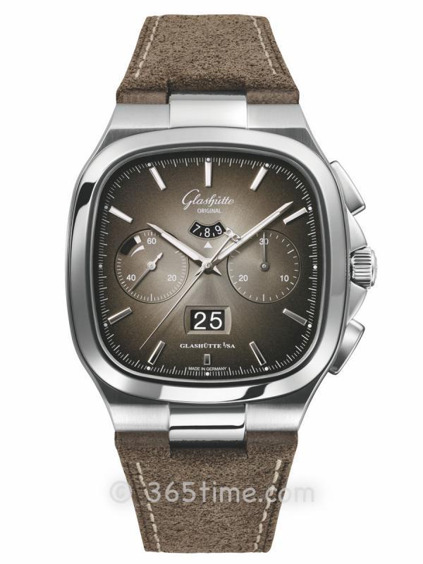 格拉苏蒂原创Seventies Chronograph Panorama Date 七零年代大日历计时腕表1-37-02-05-02-35