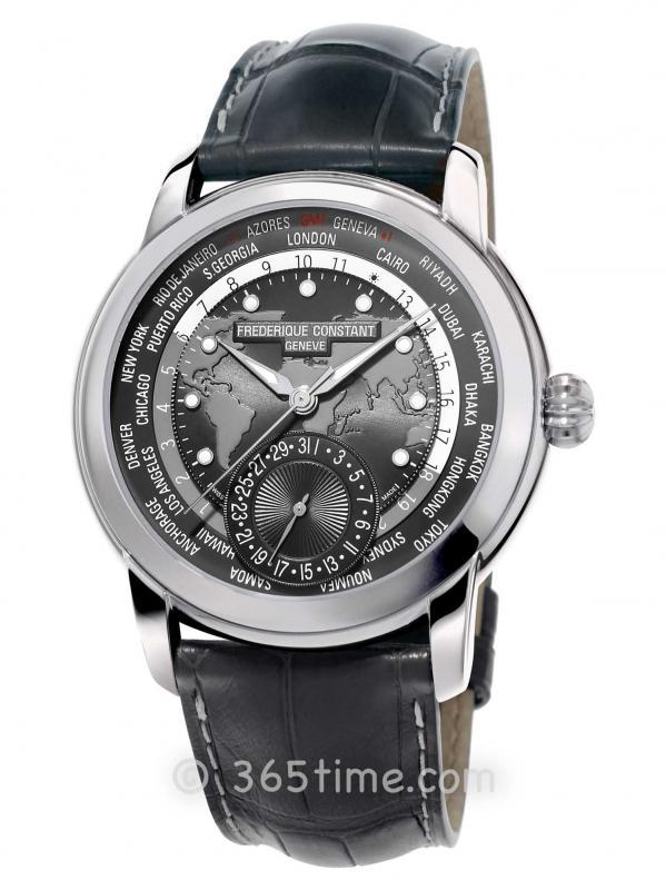 康斯登百年典雅世界时区FC-718DGWM4H6