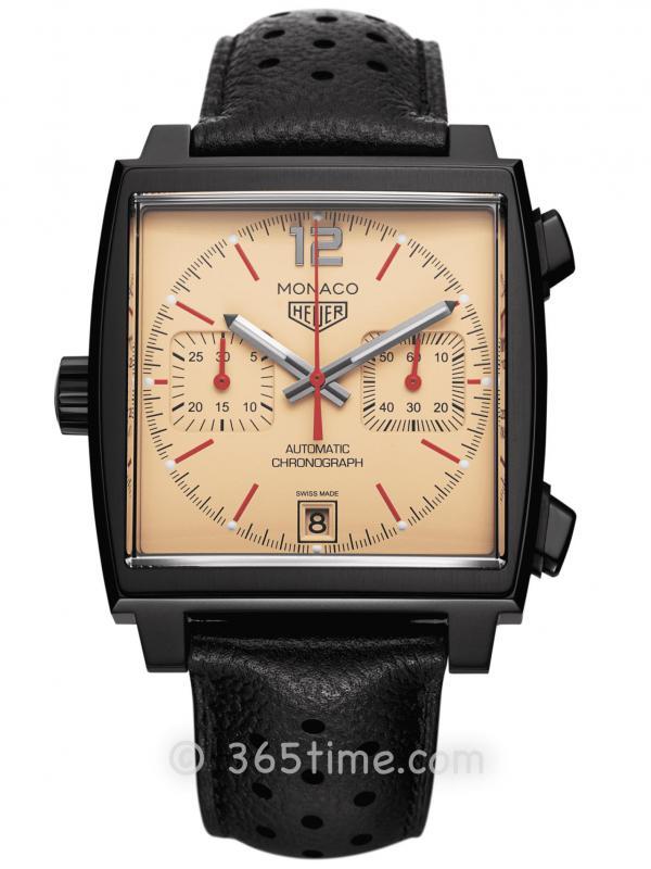 """泰格豪雅Monaco""""The Hour Glass""""40周年特别限量CAW211U.FC6356"""