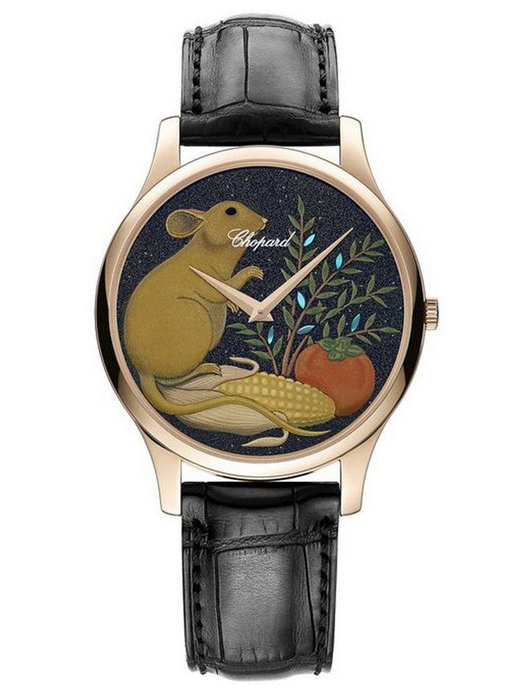 萧邦L.U.C XP鼠年莳绘腕表161902-5069