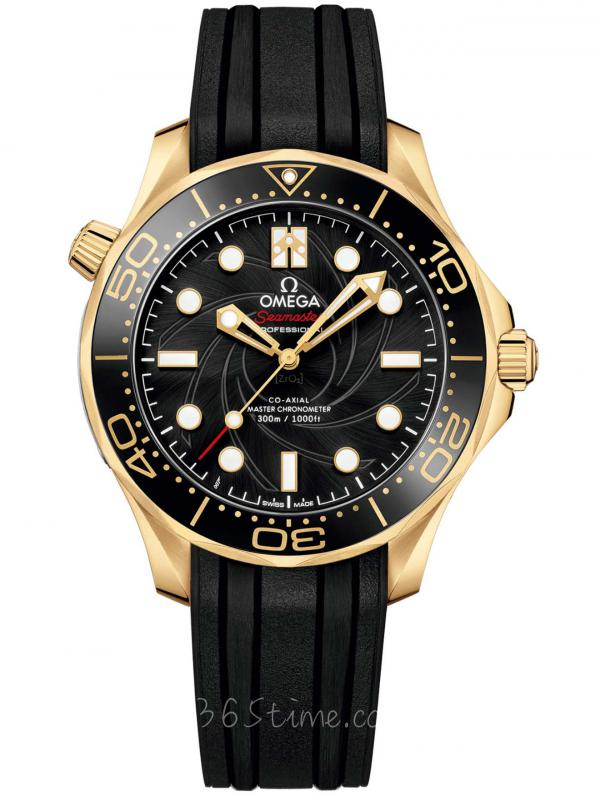 """欧米茄海马300米潜水表 """"詹姆斯·邦德""""限量版210.62.42.20.01.001"""
