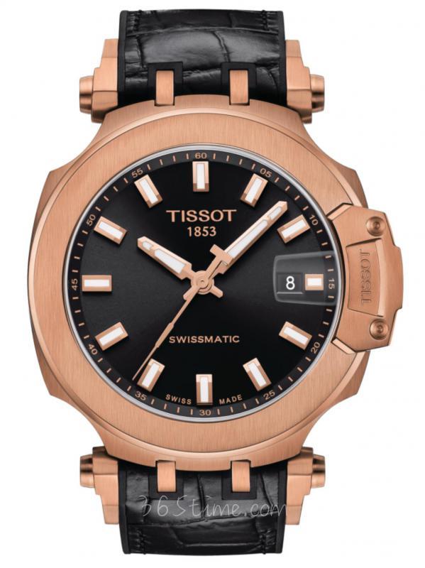 TISSOT天梭T-SPORTSwissmatic玫瑰金涂层T115.407.37.051.00