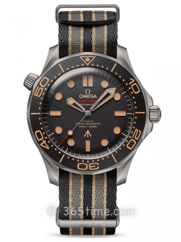 欧米茄海马系列潜水300米007版腕表210.92.42.20.01.001