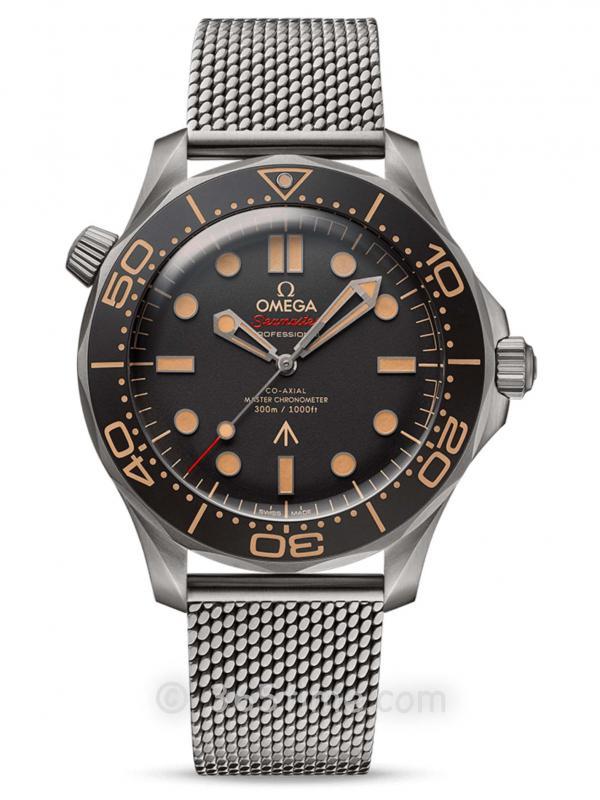 欧米茄海马潜水300米007版210.90.42.20.01.001