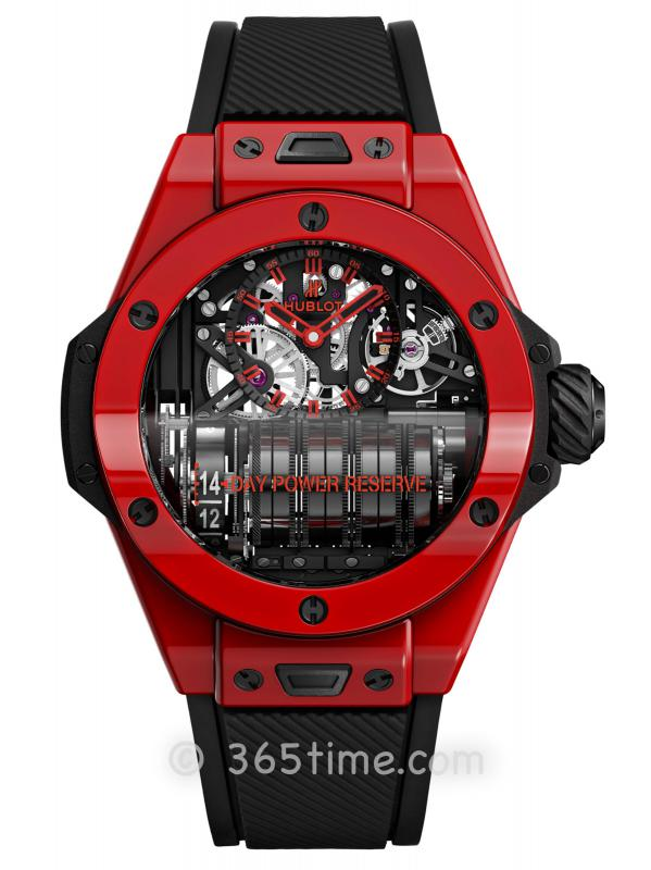HUBLOT宇舶BIG BANG系列MP-11红色魔力腕表911.CF.0113.RX