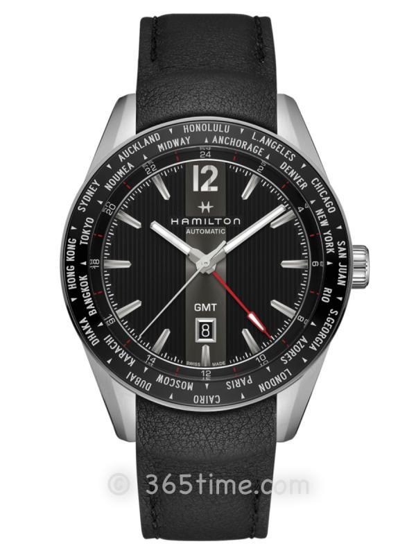 汉米尔顿Broadway百老汇系列GMT限量版腕表H43725731