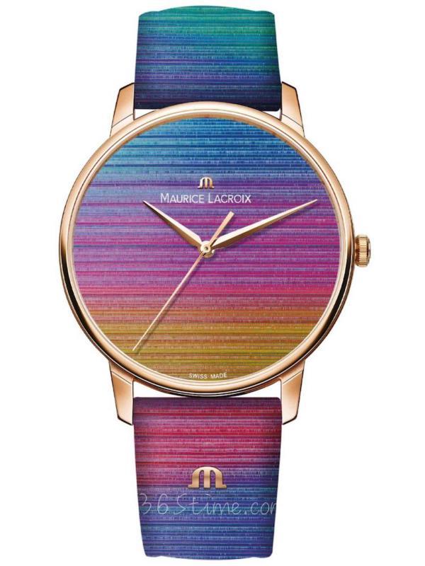 艾美ELIROS系列彩虹腕表EL1118-PVP01-090-1