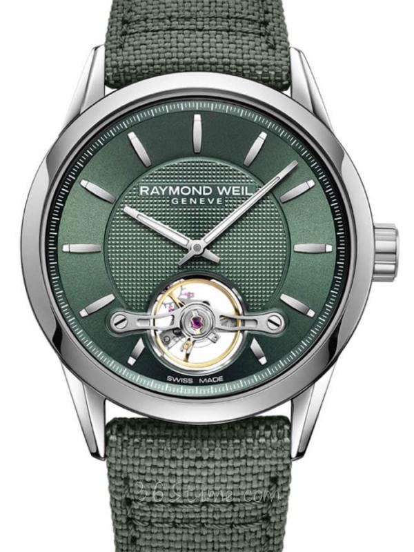 蕾蒙威Freelancer系列绿色腕表2780-STC-52001