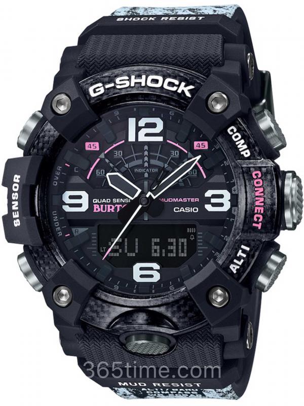 卡西欧G-SHOCK BURTON联名款腕表GG-B100BTN-1A