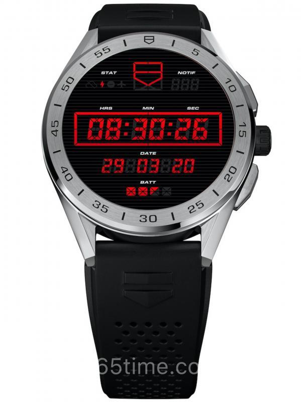 泰格豪雅Connected 2020款智能手表SBG8A12.BT6219