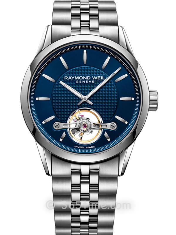 蕾蒙威自由骑士男士蓝色不锈钢自动2780-ST-50001