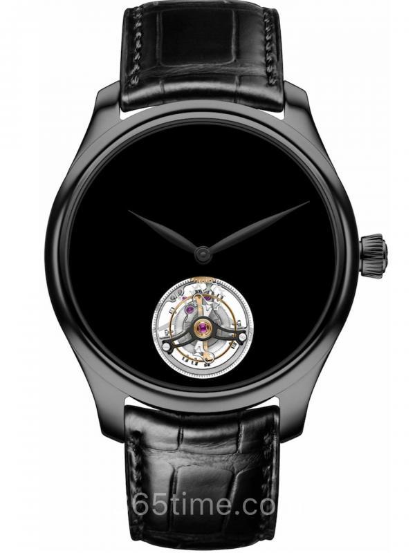 亨利慕时勇创者陀飞轮Vantablack®黑色指针1804-1206