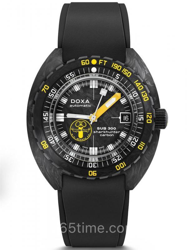 DOXA时度Sub 300锻造碳美国潜水员限量版822.70.101AQL.20