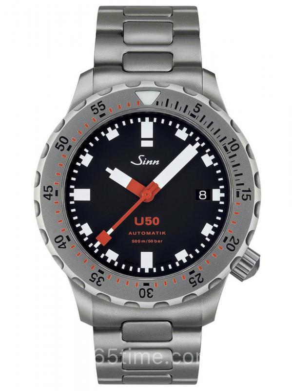 Sinn辛恩DivingU50德国潜艇钢材质潜水表