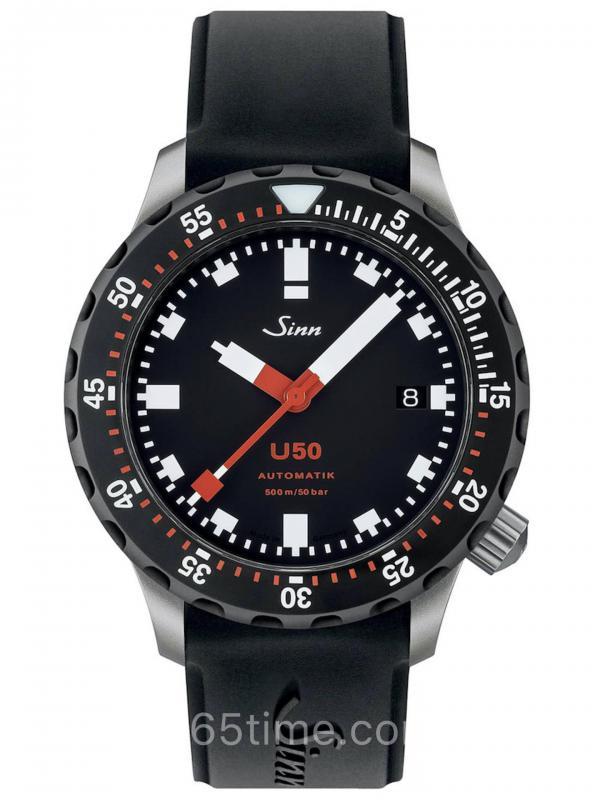 Sinn辛恩DivingU50 SDR德国潜艇钢材质潜水表