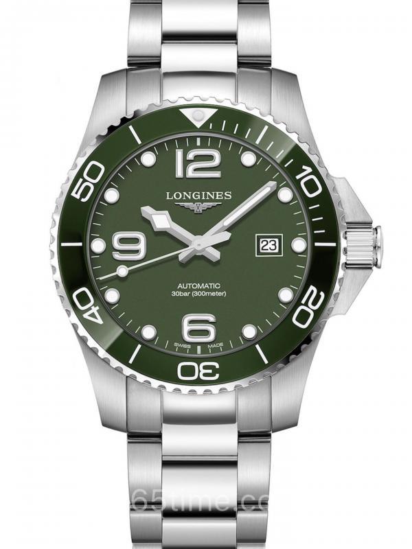 浪琴康卡斯自动潜水表L3.782.4.06.6