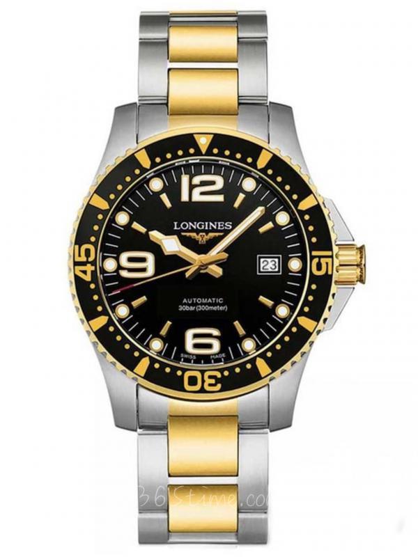 浪琴HYDROCONQUEST康卡斯自动机械潜水表L3.742.3.56.7