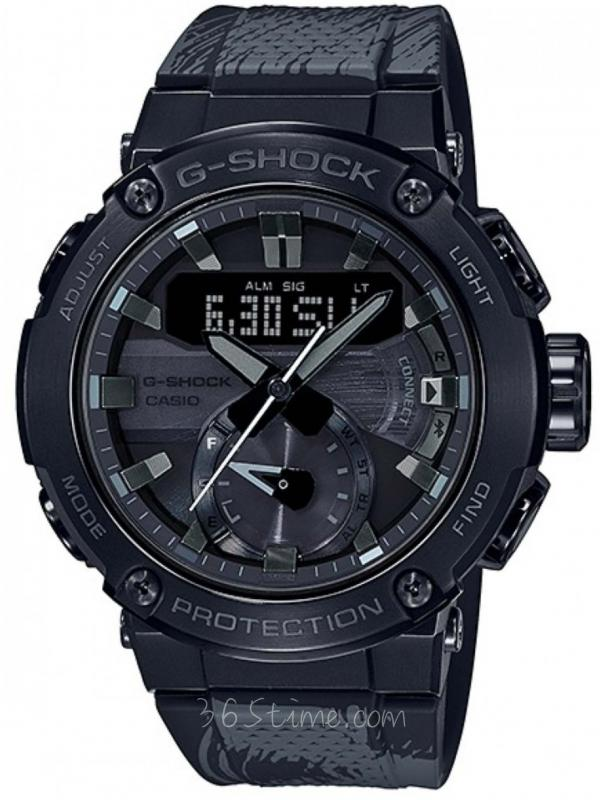 Casio卡西欧G-SHOCKFormless太极GST-B200TJ-1A