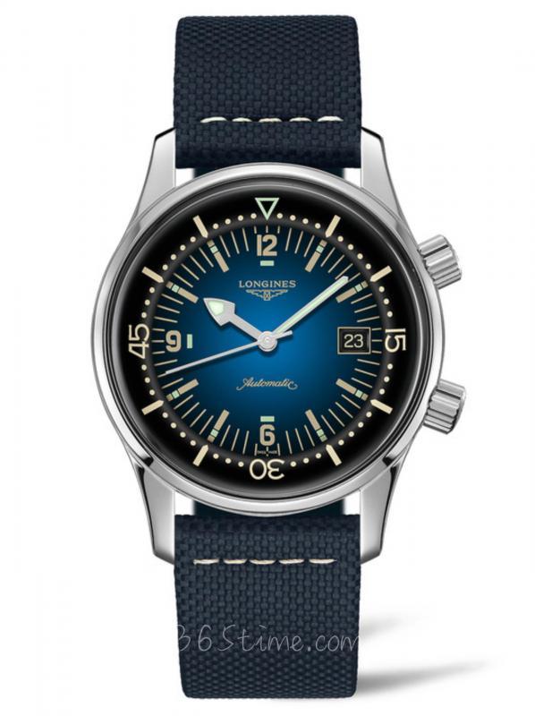 浪琴经典复刻系列传奇潜水员腕表L3.774.4.90.2