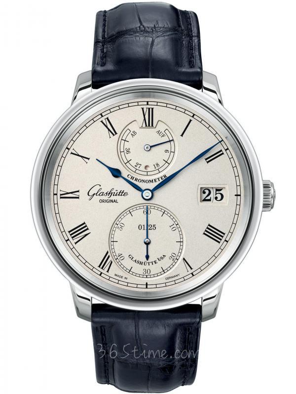 格拉苏蒂Senator Chronometer议员天文台腕表限量版1-58-03-01-04-50
