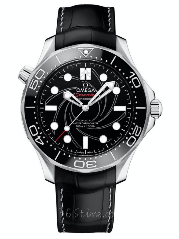 """欧米加海马300米潜水表""""詹姆斯·邦德""""编号版210.93.42.20.01.001"""