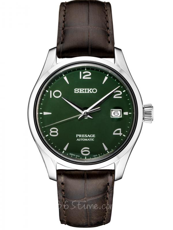 SEIKO精工Presage绿色珐琅盘SPB111