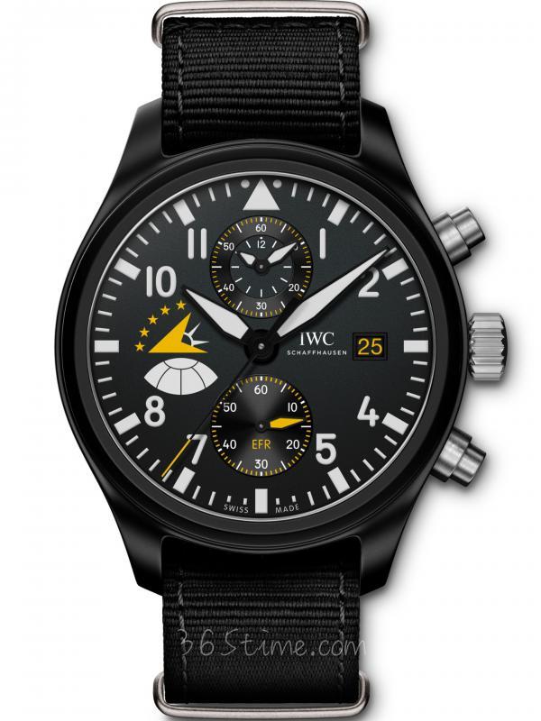 IWC万国飞行员计时码表「Eagles」特別版IW389015