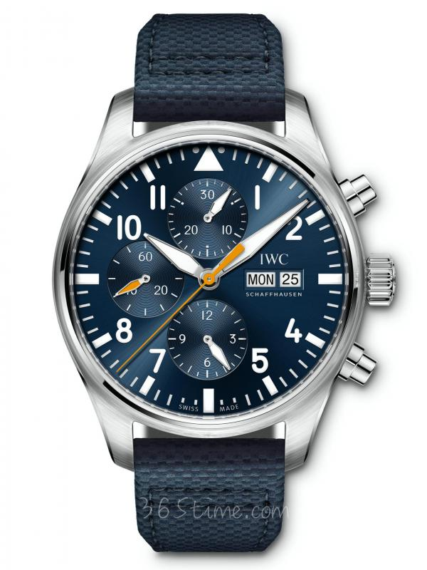 "IWC万国表飞行员计时 ""蓝队长""特别版IW377729"