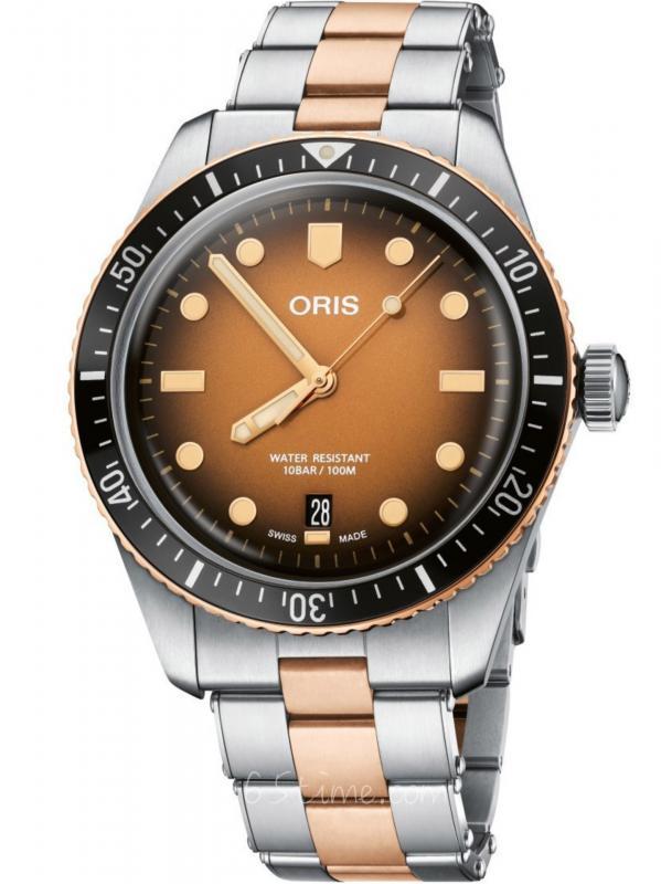 Oris豪利时DIVERS 65年复刻版潜水01 733 7707 4356-07 8 20 17