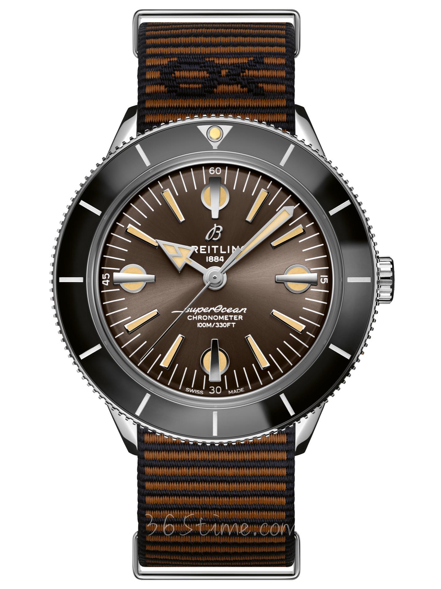 百年灵全年灵超级海洋文化系列57腕表 OUTERKNOWN特别版A103703A1Q1W1