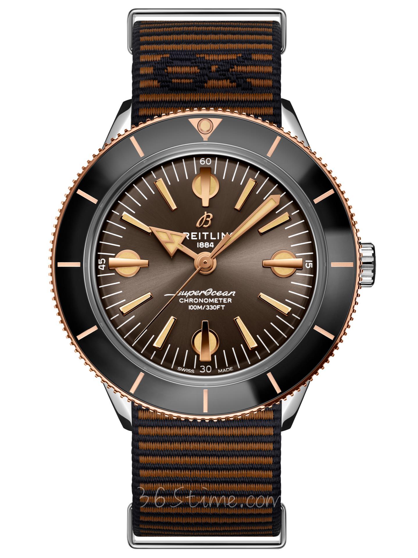 百年灵全年灵超级海洋文化系列57腕表 OUTERKNOWN特别版U103701A1Q1W1