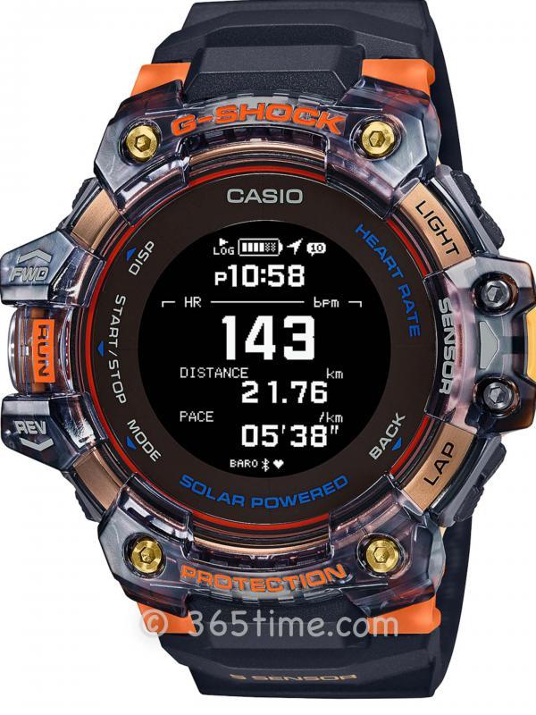 卡西欧G-SHOCK G-SQUAD GBD-H1000GBD-H1000-1A4
