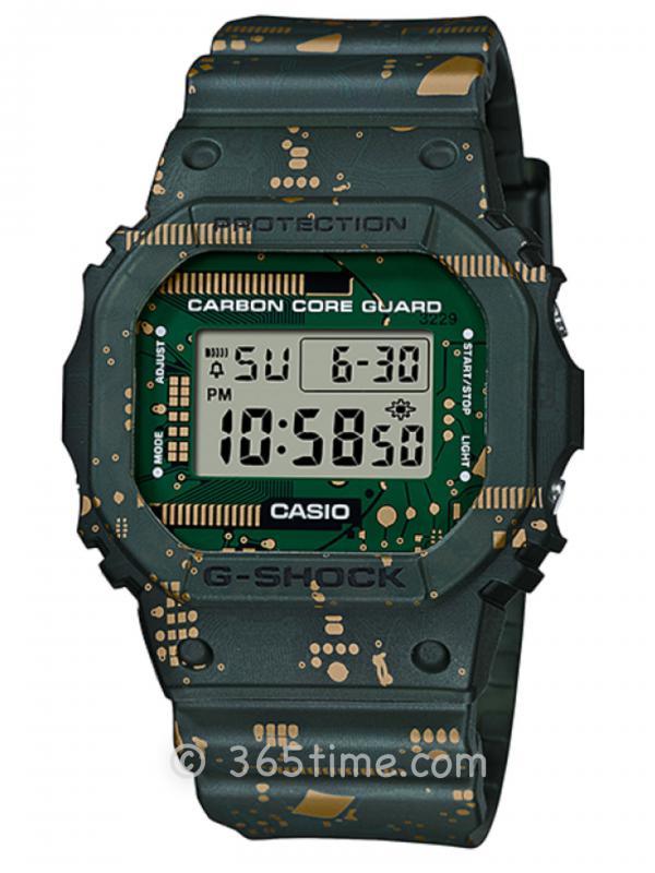 卡西欧G-SHOCK 5600方形DWE-5600CC-3