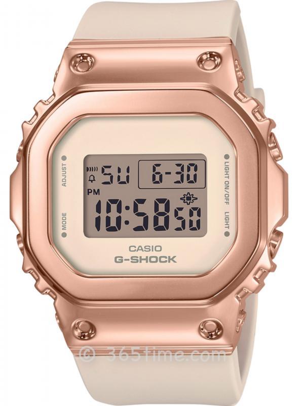 卡西欧G-SHOCK GM-S5600女款GM-S5600PG-4