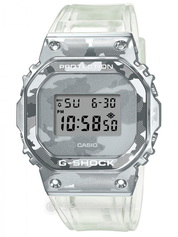 卡西欧G-SHOCGM-5600金属表圈GM-5600SCM-1