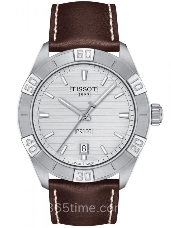TISSOT天梭R100钢带石英男士计时码表T101.617.16.031.00