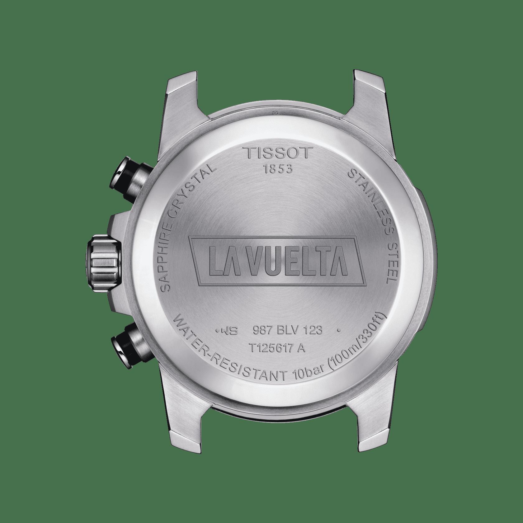 TISSOT天梭速敢系列合成材料石英男士手表T125.617.17.051.01