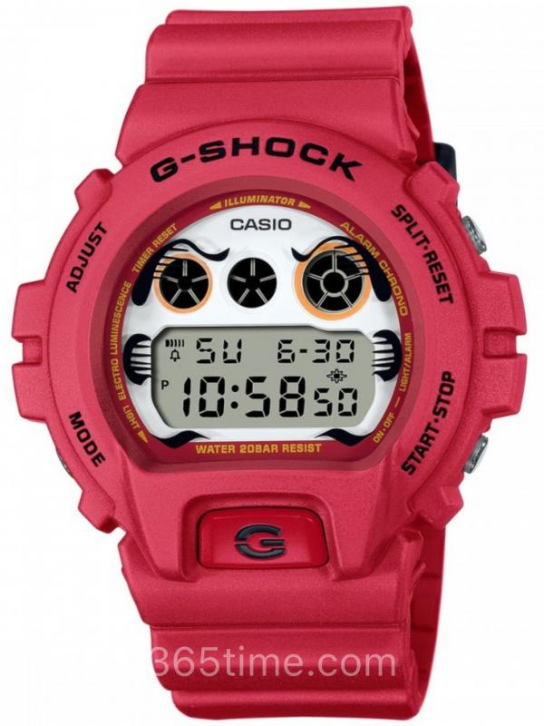 Casio卡西欧G-SHOCK 2021 DARUMA达摩DW-6900DA-4