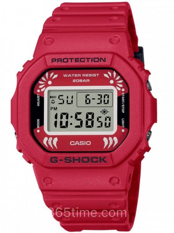 Casio卡西欧G-SHOCK 2021 DARUMA达摩DW-5600DA-4