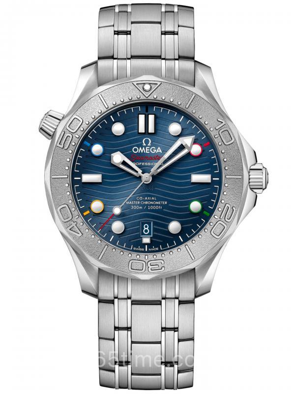 Omega欧米茄海300米潜水「北京2022冬奥会」特别版腕表522.30.42.20.03.001