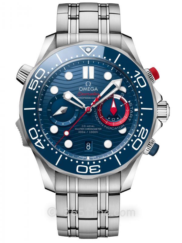 OMEGA欧米茄Seamaster Diver 300M美洲杯特别版计时码表210.30.44.51.03.002